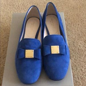 brand new Suede Cole Hann loafer size 8.5 B